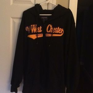 West Chester univ hooded 2 pocket